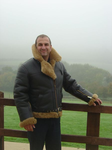 Sheepskin Flight Jacket Uk - Coat Nj